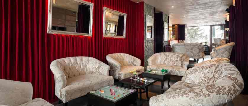Hotel Le Mottaret - lounge 2